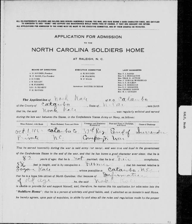 SR_State_Auditor_1901_Pensions_5_22_235_64_Kale_Noah_Catawba_County_001