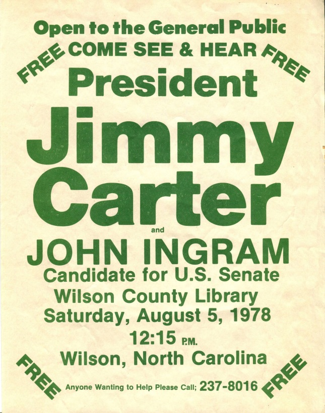 Poster_for_President_Carters_Visit_to_Wilson_NC